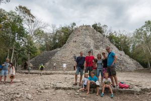 The highest pyramid of Cobá